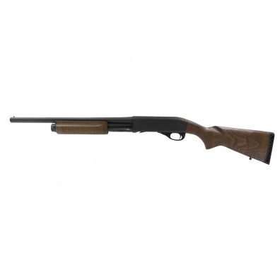Dominator DM870 Shell-Ejecting Shotgun - Wooden Stock