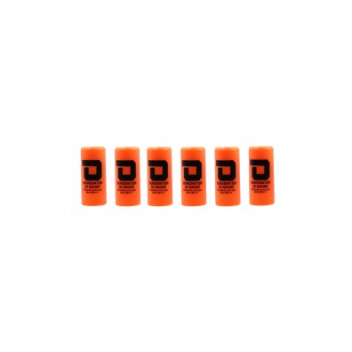 Dominator™ 12 Gauge Gas Shotgun Shell Hulls - Orange (6 Hulls/Unit)