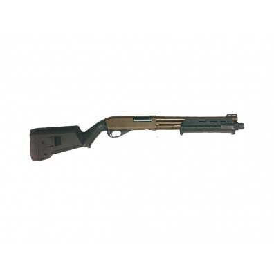 "Dominator DM870 Shell-Ejecting Shotgun - 14"" Barrel Tactical MP (Cerakote™ Flat Dark Earth)"